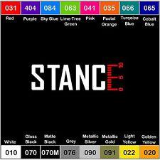 STANCE V2 Decal Vinyl Sticker Illest Fresh Clean Stance Euro Hoonigan