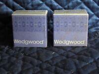 Wedgwood Napkin Rings  Vintage  NIB