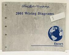OEM 2001 Ford Escort Wiring Diagrams P/N PG-288