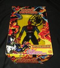 Marvel Universe 10'' Night Shadow Spiderman Figure Toy Biz 1997  New NIB