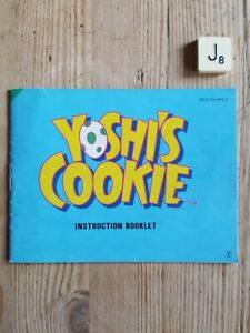 Yoshis Cookie NES  *INSTRUCTIONS ONLY* Exc.Condition For Age.