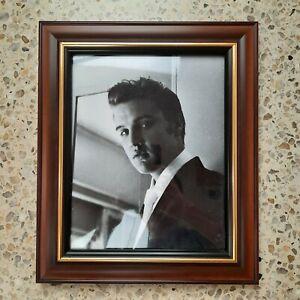 Elvis Presley Portrait Framed Photograph