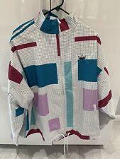 Adidas Originals Grid Block Wind Jacket Multicolor ED5511 Men's Size Large NWT