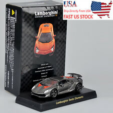 USA Sell Kyosho 1/64 Gray Lamborghini Sesto Elemento Diecast Car Vehicles Model