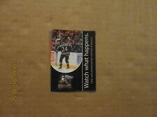 Ihl Grand Rapids Griffins Vintage Circa 1998-1999 Logo Hockey Pocket Schedule