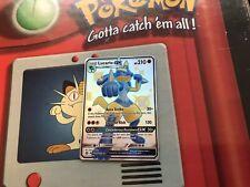 Pokémon Hidden Fates Shinny Lucario