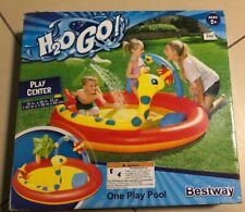 Bestway H2O Go! Inflatable Swimming Water Play Center One Play Pool Ages 2+ New