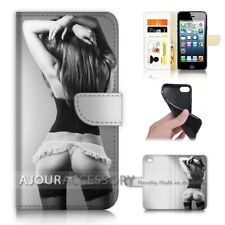 ( For iPhone 8 ) Wallet Flip Case Cover AJ40141 Sex Girl