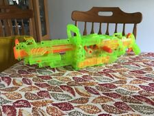 nerf vulcan ebf-25 gun green clear see through excellent condition works tested.