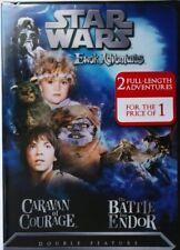 Star Wars Ewok Adventures: Caravan of Courage/The Battle for Endor (Dvd,2004) R1