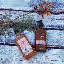 Bath Body Works LOVE Rose Vanilla Aromatherapy Body Wash & Body Lotion New