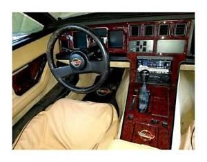 Dash Trim Kit Set for Chevrolet Corvette 1986-1989 with automatic transmission