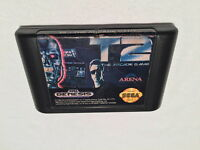 T2: The Arcade Game (Sega Genesis, 1992) Game Cartridge Vr Nice!