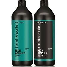 MATRIX NEW TOTAL RESULTS HIGH AMPLIFY SHAMPOO & CONDITIONER -1000ML/LITRE
