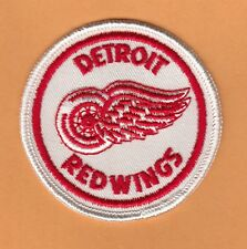 1970s OLD LOGO DETROIT RED WINGS 3 inch PATCH UNSOLD STOCK CREST
