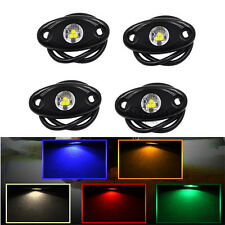 4x CREE LED Rock Light For JEEP OffRoad Under Wheel Truck Trail Fender Lighting