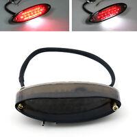 Smoke Lens LED Motorrad Bike Rücklicht Bremslicht Kennzeichen Universal CS