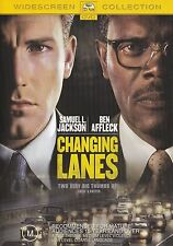 CHANGING LANES (Samuel L. JACKSON Ben AFFLECK) THRILLER DVD (NEW SEALED) Reg 4