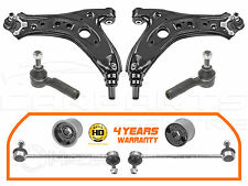 FOR POLO FABIA IBIZA FRONT LOWER CONTROL ARMS REAR BUSHES HD LINKS TRACK ROD END