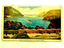 West Point Batteries and Hudson River Prudential Insurance Postcard Un-posted