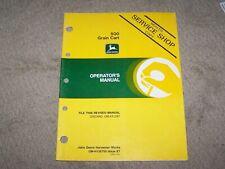 John Deere Used 500 Grain Cart Operators Manual A8
