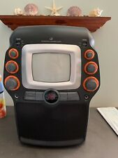 "CD Graphics Karaoke Player Machine w/ ""Girl Pop Party Pack"" CD Microphone Cables"