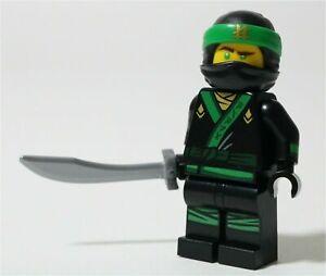 LEGO NINJAGO MOVIE LLOYD GARMADON MINIFIGURE 70612 GREEN NINJA - GENUINE
