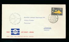 KLM-Flug Niederl. Antillen 1964 Aruba-Grafenhage (FP3)
