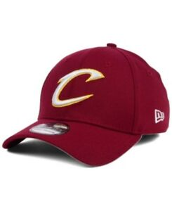 New Era Cleveland Cavaliers NBA 39Thirty Team Classic Fitted Hat Maroon Size M/L