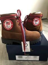 e8939e98d 2018 Olympic Team USA Polo Ralph Lauren Opening Closing Ceremony Boots NIB  Sz 2