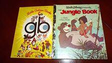 JUNGLE BOOK LITTLE GOLDEN BOOK Walt Disney the  D101 1974 SYD Baloo MOWGLI tiger