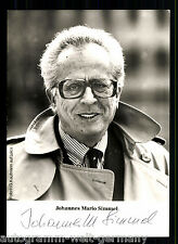 Johannes Mario Simmel (+2009) TOP AK Orig. Sign.  Schriftsteller/Autor +76959