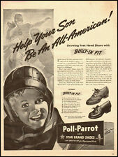 1942 vintage ad for Poll-Parrot Shoes  -021712