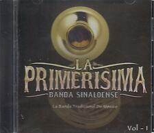 La Primerisima Banda Sinaloense DVD NEW Vol 1 ALBUM Banda Tradicional Mexico !
