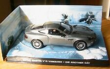 DIORAMA ASTON MARTIN V12 VANQUISH DIE ANOTHER DAY JAMES BOND 007 1/43 AUTRE JOUR