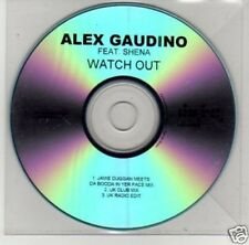 (B572) Alex Gaudino, Watch Out ft Shena - DJ CD