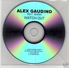 (B572) Alex Gaudino, Watch Out ft Shena - DJ CD