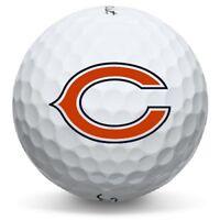 1 Dozen Chicago Bears NFL Logo Titleist Pro V1x Perfect Quality Golf Balls