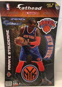 Amar'e Stoudemire New York Knicks Fathead Teammate Sticker Decal 9x16 Rare New