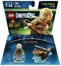 LEGO Dimensions LOTR LEGOLAS Fun Pack 71219 NEW, Sealed (Ships for Free)