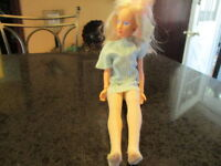 Jem and The Holograms Jerrica Doll with Light Up Earrings 1985 Hasbro