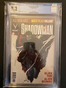 Shadowman 13 CGC 9.2 High Grade Valiant Comic Book CL61-8