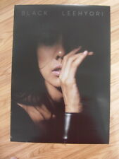 LEE HYORI - BLACK [ORIGINAL POSTER] *NEW* K-POP