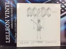 AC/DC Flick Of The Switch LP Album Vinyl Record 78-0100-1 1A/1B Rock 80's