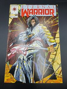 Eternal Warrior #4 1st cameo app of BLOODSHOT Valiant NM 1992 Van Hook Signature