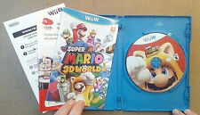 Super Mario 3D World Nintendo Wii U 2013 (Blue Case)