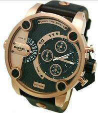 OROLOGIO DIESEL DZ7268 CHRONO RARO NUOVO WATCH NEW MEN UOMO PELLE LEATHER BLACK