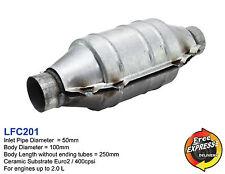 Keramik Katalysator Universal KAT Runde 50mm 400 Zeller / 400cpsi EURO2 LFC201