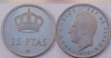 L406 MONEDA ESPAÑA 25 PESETAS 1975 ESTRELLA 76