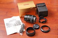 In scatola SIGMA 28-70mm 3.5-4.5 AF LENS per fotocamere MINOLTA